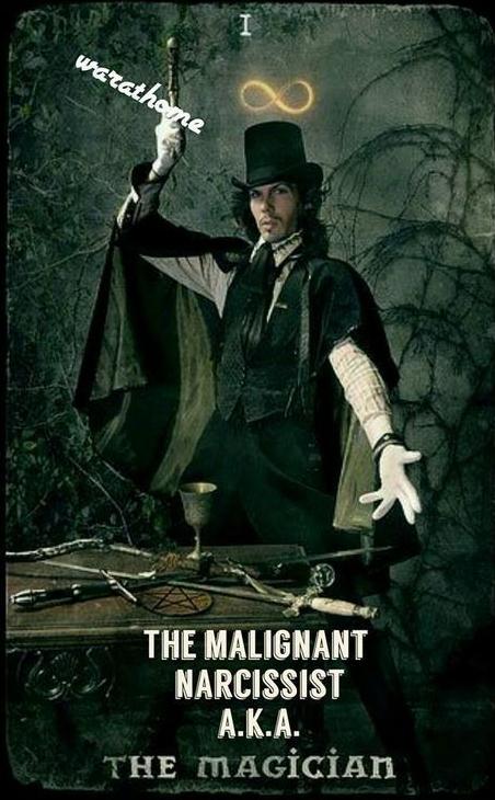 Malignant Narcisist Un Creative Magician